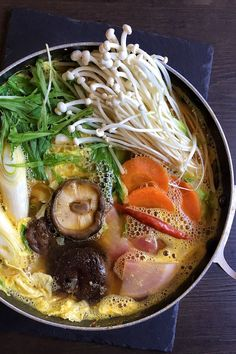 vegan miso hot potVegan nabe or hot pot is a meatless take on a. vegan miso hot pot Vegan nabe or hot pot is a meatless take on a satisfying Japanese winter soup. Its chock-full of flavour and healthy veggies. Asian Recipes, Mexican Food Recipes, Soup Recipes, Healthy Recipes, Healthy Food, Japanese Food Healthy, Healthy Japanese Recipes, Chinese Recipes, Quick Recipes