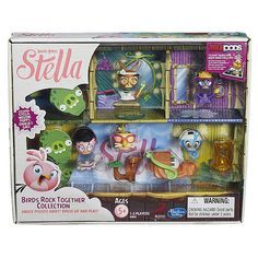 """Angry Birds Stella Telepods Birds Rock Together Collection - Hasbro - Toys """"R"""" Us"""