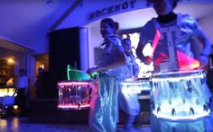 Шоу барабанщиков Glowbeat « Световое барабанное шоу