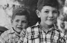 Yoni Netanyahu on Right, future Prime Minister on Left.
