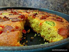 Jalapeño-Bacon Skillet Cornbread   The Kitchenista Diaries