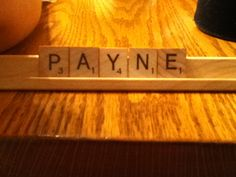 We were playing scrabble and I had the letters of Liam Payne's last name!@Jordan Bromley Pyles @EQ Lippy @Jenna Nelson Lusk