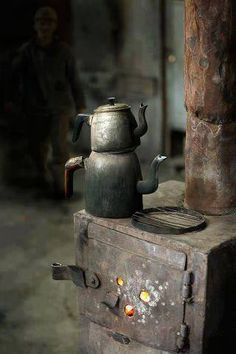 Rustic Coffee pots