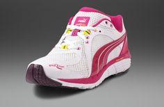 3dfbe0260393 Womens Shoes - Puma Womens Great Run Faas 600 S - White Fuchsia Purple