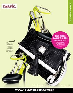 Mark. Fashion  Twist of Lime Heels $50 Cut Out for it Convertible Bag $36  Get bag for $25 with $25 additional mark. purchase.