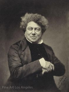 Photograph-Alexandre Dumas père Creator: Nadar (French, Photo Print made in the USA American First Ladies, Photo Print, Celebrity Photography, Famous French, Famous Black, Magnum Opus, Black History Facts, Portraits, Thing 1