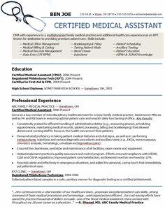 medicalassistantresumeobjectives medical assistant resume sample - Software Resume Objective