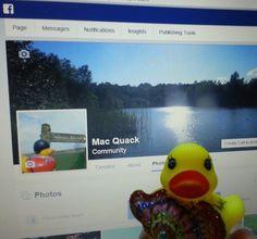 Follow the DUCK on fb at Mac Quacks community page.