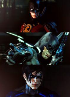 Arkham City: Red Robin, Batman and Nightwing