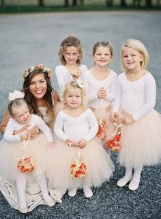 too cute in tutus! // photo by Heather Hester