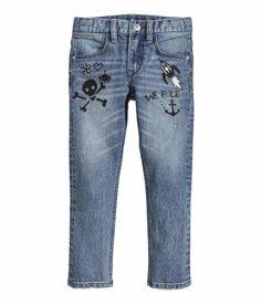 ehhh-hehhhh-hexcellent idea for the kids' older jeans.