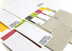 Brand Identity :: Hames Sharley by Axiom Design Partners , via Behance