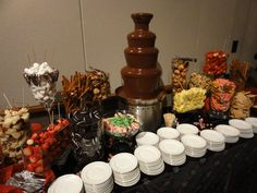 Chocolate Fountains Just Wicked from Arizona Catering at Glendale Civic Center