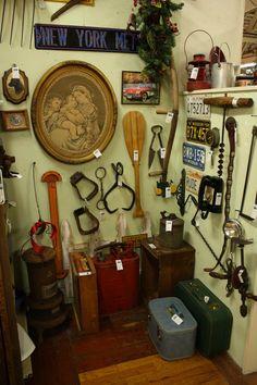 Old tools at King Richards