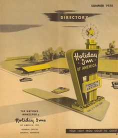 1958 Holiday Inn Directory