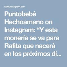 """Puntobebé Hechoamano on Instagram: """"Y esta monería se va para Rafita que nacerá en los próximos días!! 🍼💕💕"""""""