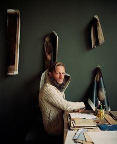 Portrait of Michaël Borremans