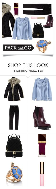 """""""Pack and Go: Winter Getaway"""" by li-lac7 on Polyvore featuring мода, Hollister Co., Chicwish, John Lewis, Charles David, Michael Kors, Tom Ford и Kate Spade"""