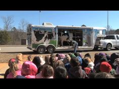 Georgia's Mobile Dairy Classroom travels thousands of miles each year teaching kids where milk comes from.  The Monitor's Ray D'Alessio caught up with it in Carrollton, recently, to see it in action.