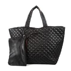 Metro quilted tote by MZ Wallace ($195 from Tuckernuck)