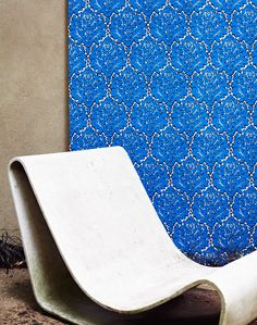 Eley Kishimoto introduces its first hand-printed wallpaper collection.