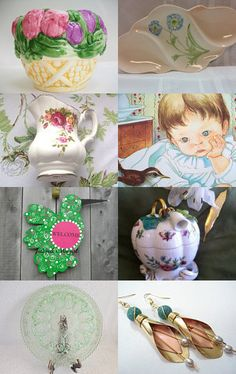 Spring Things by Brenda L. Marsh on Etsy--Pinned with TreasuryPin.com