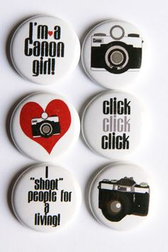 Canon flair! Oh I NEED these! Awesome @Shelley Parker Herke Parker Herke Haganman!