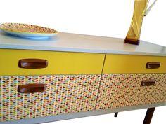 Billig retro sideboard