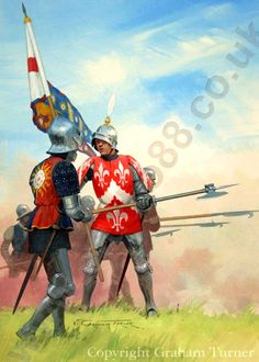 Yorkist knight Sir Laurence Rainsford and Edward IV's Standard bearer at the battle of Tewkesbury, 1471.