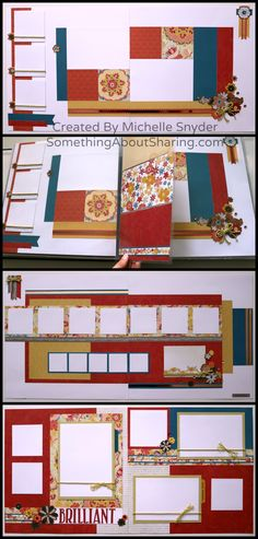 Add Memory Pocket Plus Pages between scrapbook layouts. Perfect for that extra…