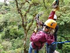 Zip-lining canopy tour in Boquete. Follow your detour to the land of eternal spring, Boquete, Panama. Top activities, travel tips and resources for traveling to Boquete, Panama.