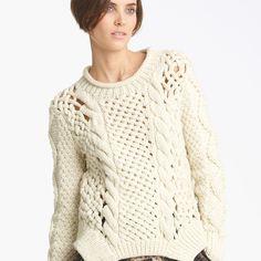 Игаль Азроель #kt_womens #kt_pullovers #kt_beige #kt_freepattern