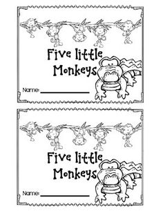Monkey Business With Five Little Monkeys