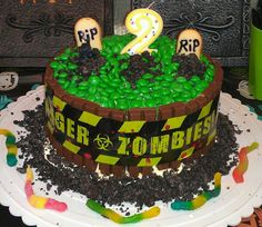 Zombie cake by Alexis Aulds and Meagan Aulds