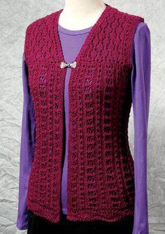 Fiddlesticks Knitting--Dorothy Siemens--Venus Vest