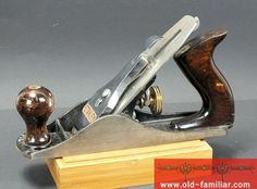 alter Stanley Hobel 4C guter Zustand / old Stanley plane 4C good condition