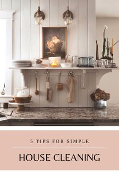 Cleaning can be a daunting task for a homemaker. I'm sharing my 5 top tips for simple house cleaning. When managing a home with 4 kids underfoot, these simple tips help me maintain the joyful art of homemaking. #simplehomemaking #Tipsforsimplehousecleaning #homemakertips House Cleaning Tips, Spring Cleaning, Cleaning Hacks, Simple House, Clean House, Simple Living, Folding Laundry, French Country Farmhouse, Slow Living