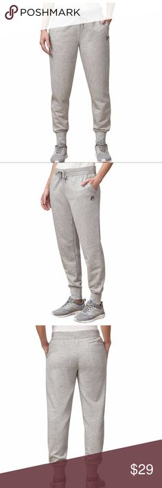 03dbf5ecb New Fila Ladies French Terry Jogger Sweatpants Brand new with tags! Fila  Ladies French Terry