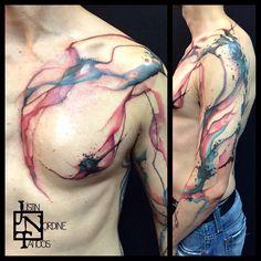 Justin Nordine tattoo