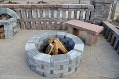 fire pit how many blocks - Google Search