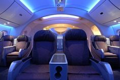 787 Dreamliner: First Class Cabin Mockup