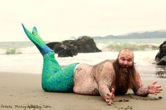 Merman Will Swim Right Into Your Heart In Ocean-Themed Dudeoir Shoot