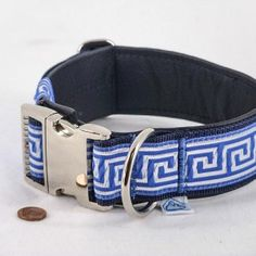 "Leder-Halsband ""Greek"", extrabreit  37,90€"