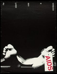 AIDS education poster