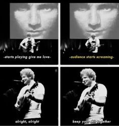 lol I love Ed Sheeran Ed Sheeran, Love Of My Life, In This World, I Love Him, My Love, Funny Memes, Hilarious, Funny Quotes, Life Quotes
