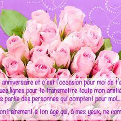 Joyeux Anniversaire Bouquet De Fleurs Happy Birthday Happy