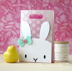Laura Bassen: Mama Elephant - Bunny Favor Bag Accessories