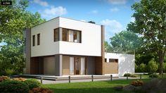 dom 100m2 płaski dach - Szukaj w Google