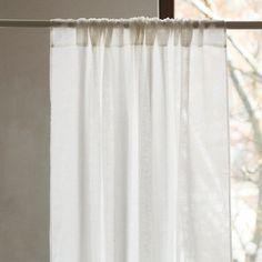 Bâton Noir Poche Sheer Sari Curtain//Drapé//Panneau-Paire