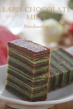 BitterSweetSpicy: Lapis Chocolate Mint